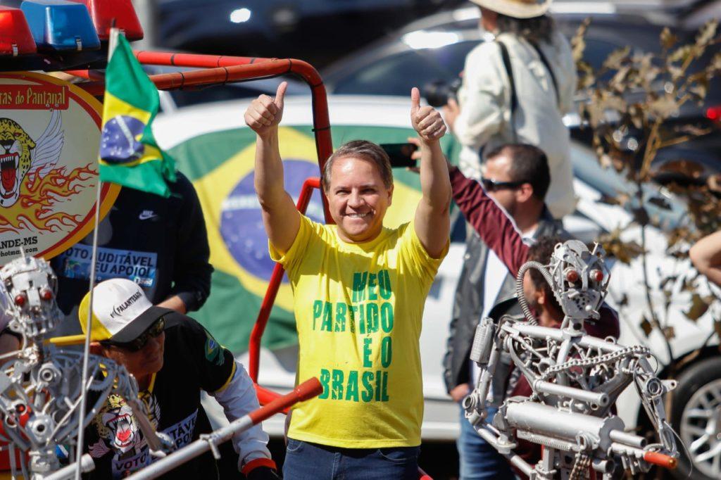 Apoiadores de Bolsonaro vão às ruas a favor do voto impresso auditável